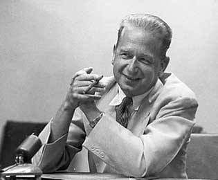 Dag Hammarskjöld was unanimously appointed Secretary-General of the United Nations by the General Assembly on 7 April 1953 . Photo: © 66349 UN/DPI
